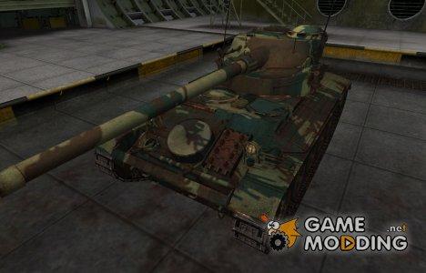 Французкий новый скин для AMX 13 90 для World of Tanks
