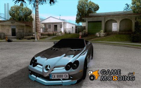 Mercedes-Benz SLR 722 Convertible для GTA San Andreas