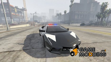 Lamborghini Reventón Hot Pursuit Police AUTOVISTA 6.0 for GTA 5