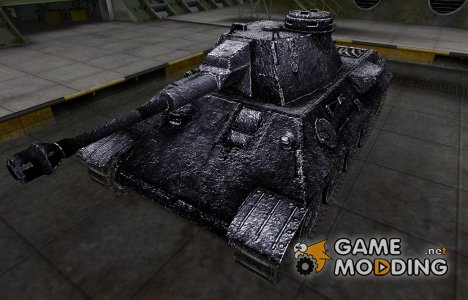 Темный скин для VK 30.02 (D) для World of Tanks