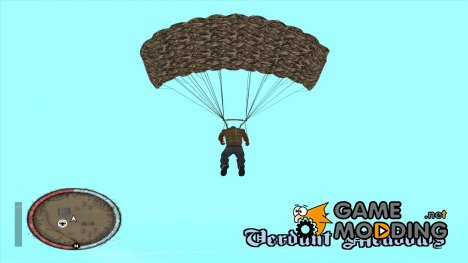 New Black Ops Parachute texture (Parachute/Paracx Only) for GTA San Andreas