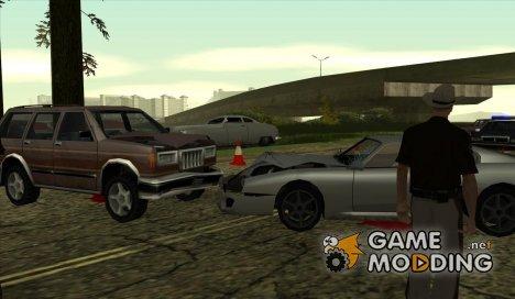 Аварии на дорогах for GTA San Andreas