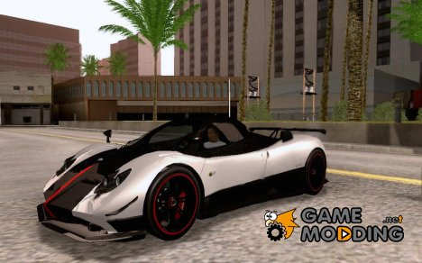 2009 Pagani Zonda Cinque Roadster for GTA San Andreas