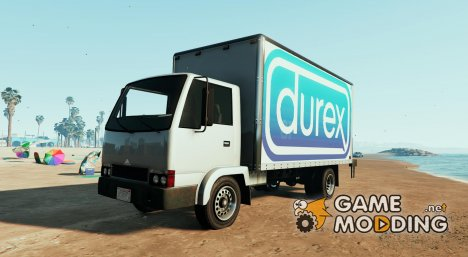 Durex - Let's Play Mule Mod Car Texture for GTA 5