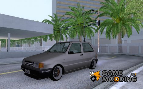 Fiat Uno Turbo HellaFlush for GTA San Andreas