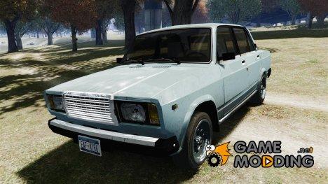 ВАЗ 2107 v1.0 for GTA 4