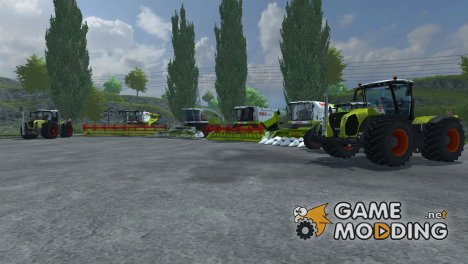 Пак техники CLAAS for Farming Simulator 2013