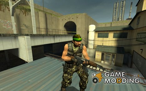 Hle Guerilla Reskin for Counter-Strike Source