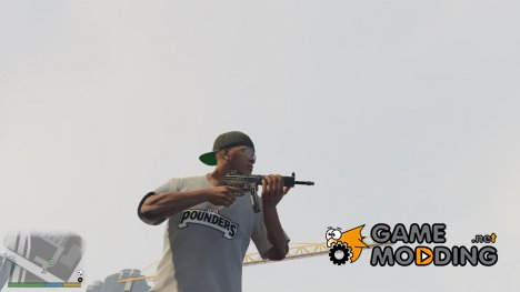 PAYDAY 2 MP5SD4 1.9.1 for GTA 5