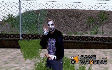 Jeff Hardy TNA Ped для GTA San Andreas
