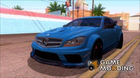 Mercedes-Benz C63 AMG Black Series 2012 для GTA San Andreas