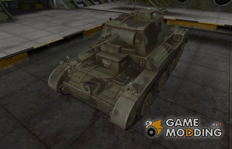 Пустынный скин для Cruiser Mk. III for World of Tanks