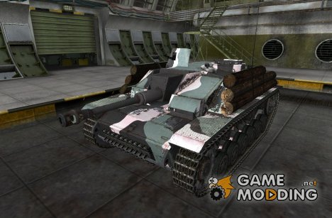 Шкурка для StuG III (+remodel) для World of Tanks