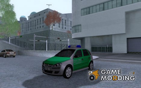 2005 Opel Corsa 1.2 16V Polizei for GTA San Andreas