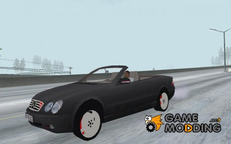 Mercedes-Benz CL600 Cabrio for GTA San Andreas