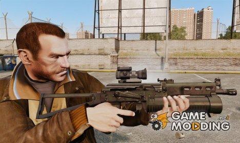 Пистолет-пулемёт ПП-19 Бизон for GTA 4