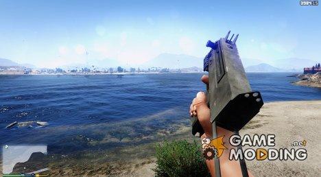 Battlefield Hardline Mac 10 для GTA 5
