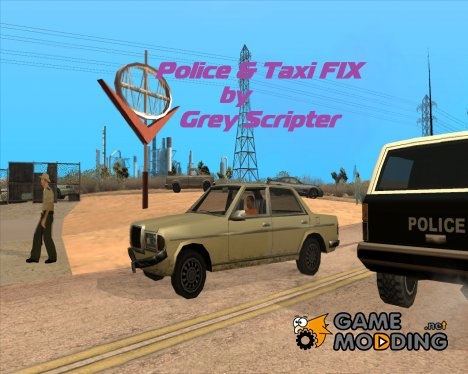 Police and Taxi Fix для GTA San Andreas