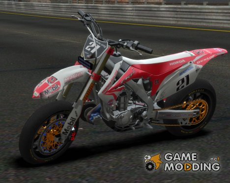 Honda CRF 450 Turbo Motard for GTA 4