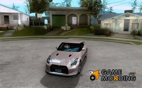 Nissan GTR R35 Spec-V 2010 Stock Wheels для GTA San Andreas