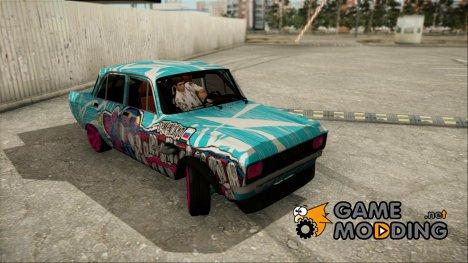 """АЗЛК 2140 """"Боевая Классика"""" for GTA San Andreas"""