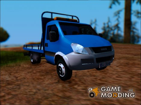 Iveco Daily Mk4 Abschleppwagen для GTA San Andreas