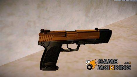 HK USP 45 Sand Frame for GTA San Andreas