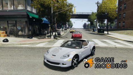 Chevrolet Corvette Grand Sport 2010 for GTA 4