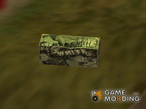 Деньги в стиле карты GTA 4 для GTA San Andreas