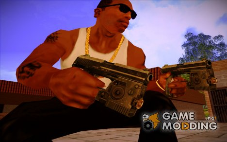 USP 0,45 из Call of Duty - Modern Warfare для GTA San Andreas