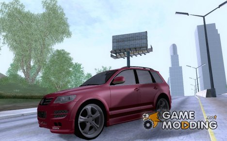 Volkswagen Touareg R50 Light для GTA San Andreas