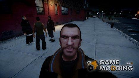 Selfie mod  для GTA 4