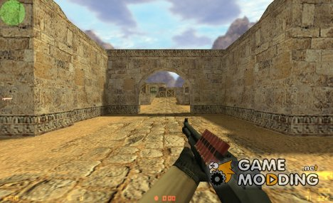XM1014 on Jennifer's remixed anims для Counter-Strike 1.6