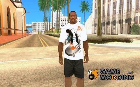 Футболка DJ Brain for GTA San Andreas