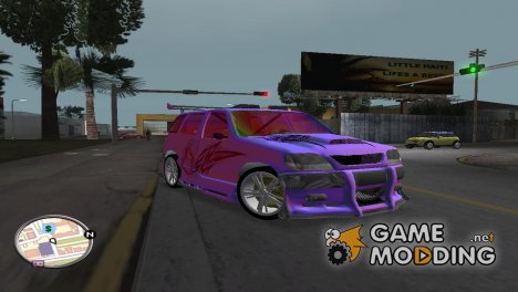 Chevrolet NIVA Special Tuning for GTA Vice City