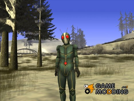 Kamen Rider ZO for GTA San Andreas