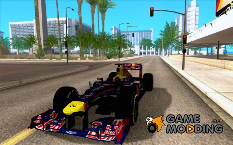 Red Bull RB8 F1 2012 for GTA San Andreas