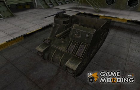 Шкурка для американского танка M7 Priest для World of Tanks