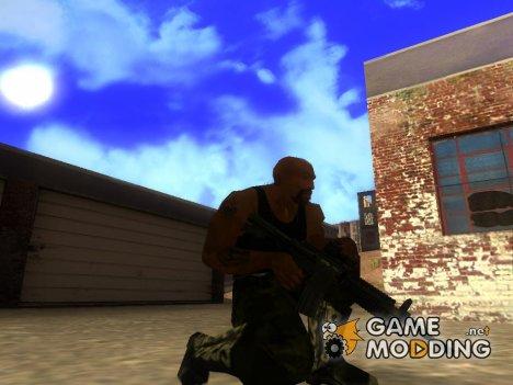 M4 stuffed for GTA San Andreas