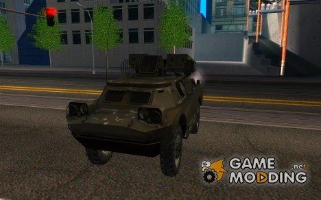 9К31 Стрела-1 Зимний для GTA San Andreas