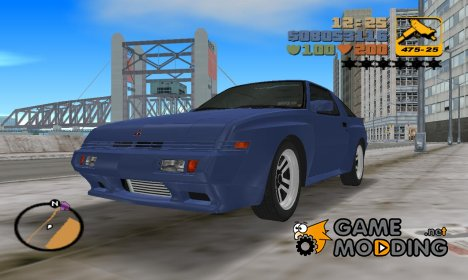 Mitsubishi Starion ESI-R 1986 for GTA 3