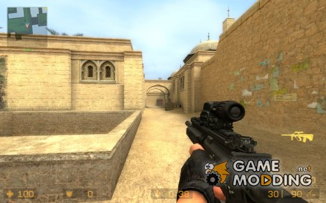 M4A1 SRIS для Counter-Strike Source