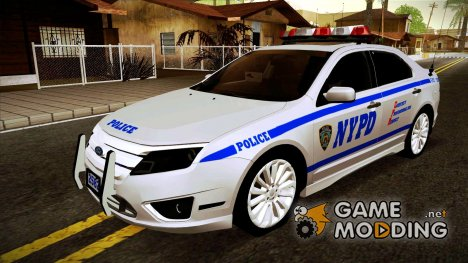 Ford Fusion NYPD 2011 for GTA San Andreas