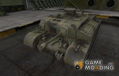 Пустынный скин для AT 8 для World of Tanks