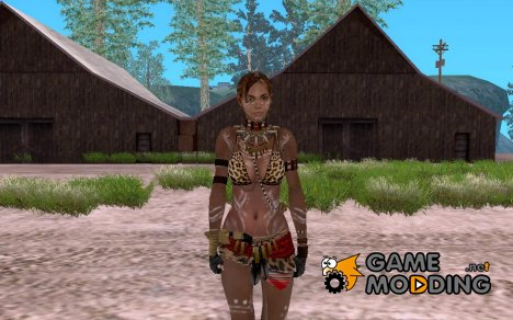 Sheva Tribal for GTA San Andreas