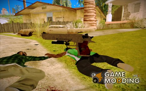 L.Hawk из RE 5 для GTA San Andreas