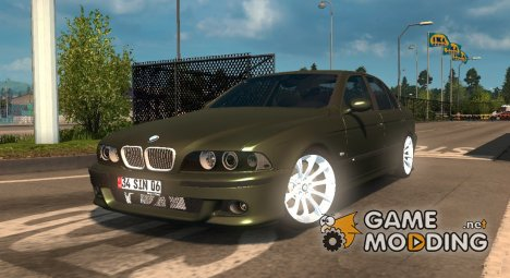 BMW 5-Series E39 для Euro Truck Simulator 2