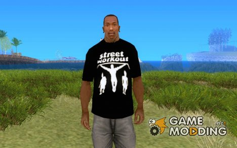 Футболка направления Street Workout для GTA San Andreas