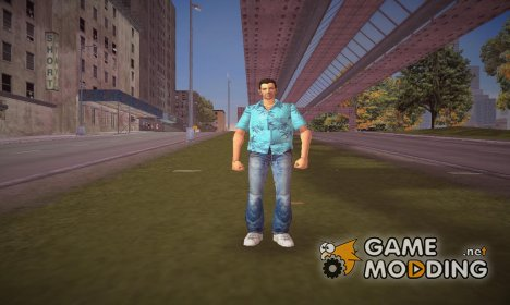Tommy Vercetti from GTA Vice City для GTA 3