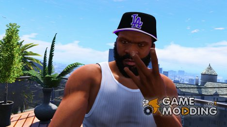 LA New Era Cap for Franklin for GTA 5